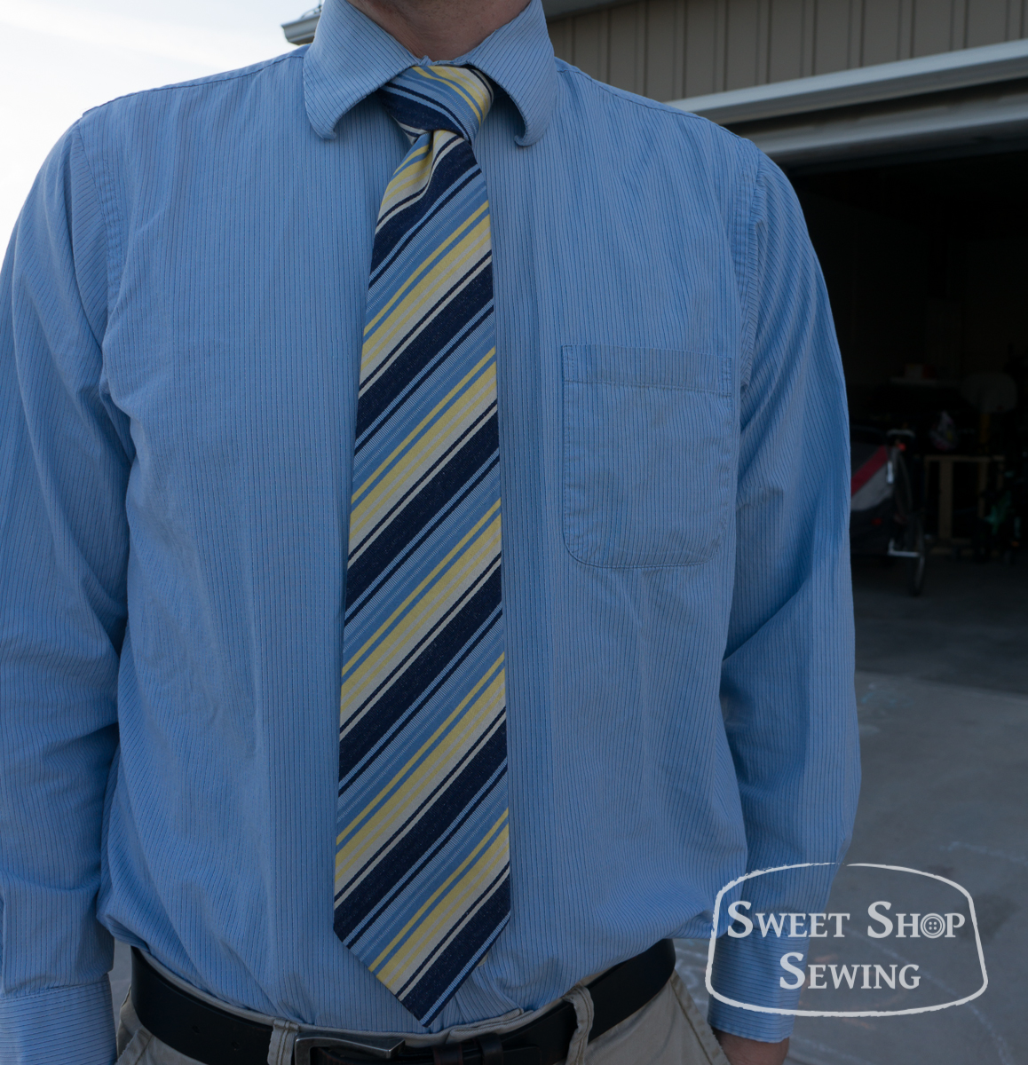 Free Men\'s Neck Tie Pattern And Tutorial | Sweet Shop Sewing